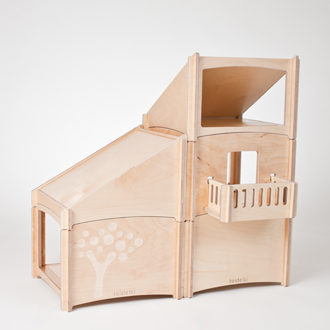 Modern Design Wooden Dollhouse Toideloi Stackhouse